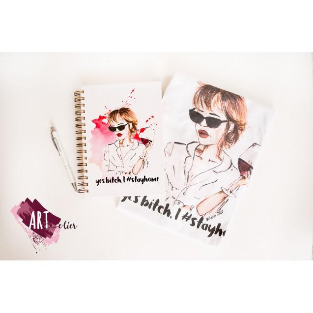 Gift Pack T-shirt for Women + Planner