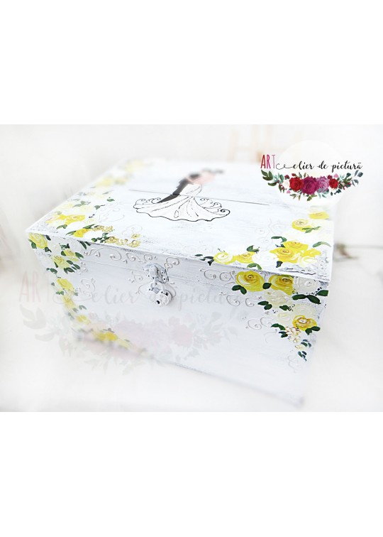 Hand-painted gift boxes