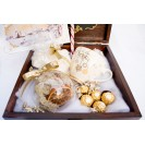 Christmas Gift Pack - Golden Christmas Delice  - natural lichen