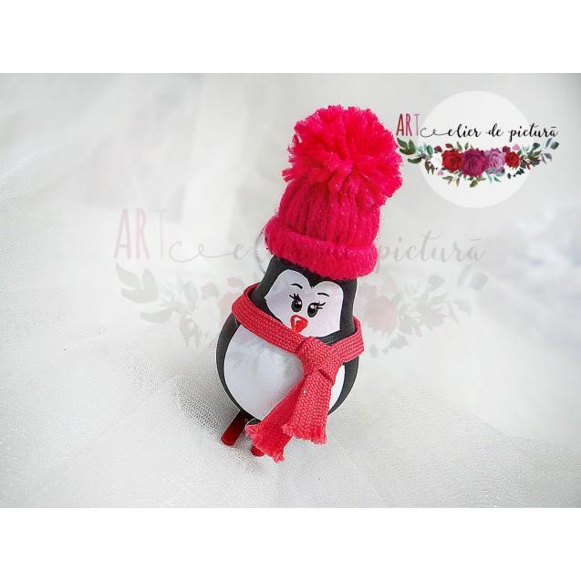 """Globuri reciclate """"Pinguini"""""""