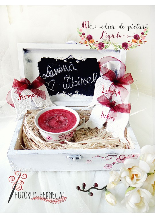 """Light and love"" gift box"