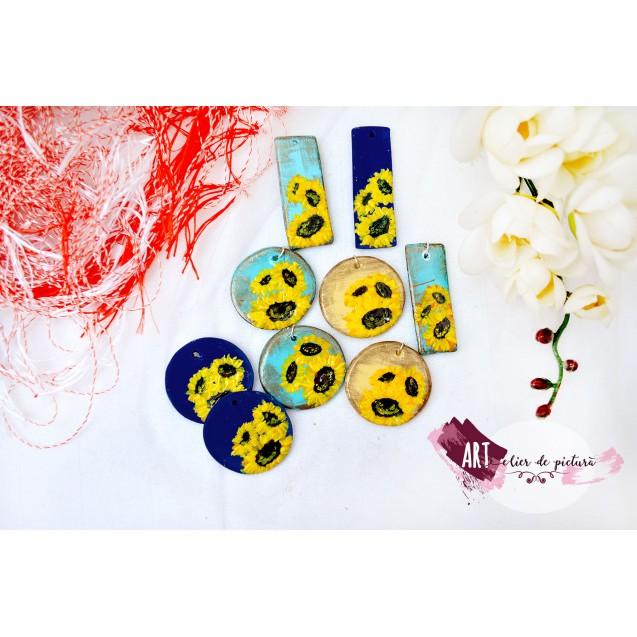 (m)ARTisoare lucrate manual, Mini-colectia Floarea Soarelui