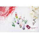 m(ART)isoare pictate manual, cu flori, elegante