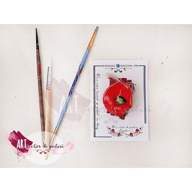 m(ART)isoare MACI din lut, pictate manual