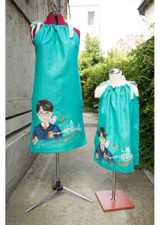 Linen Clothes for Kids - Handpainted