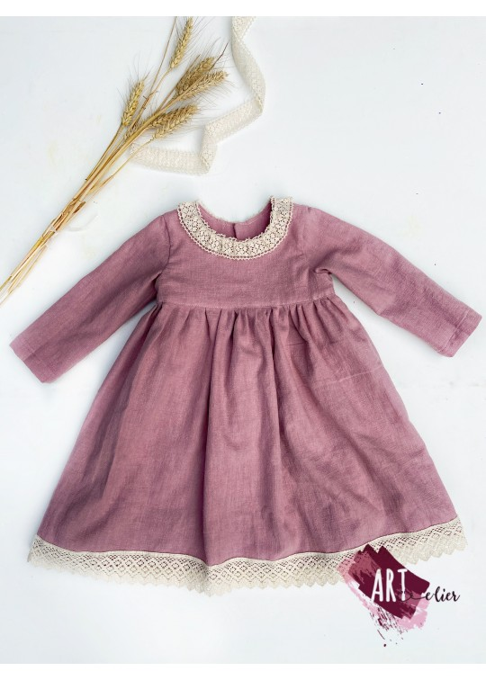 Linen Clothes for Kids - Handpainted (14)