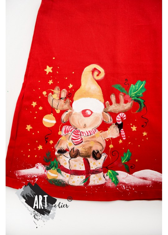 Handpainted Sundress - Christmas Collection