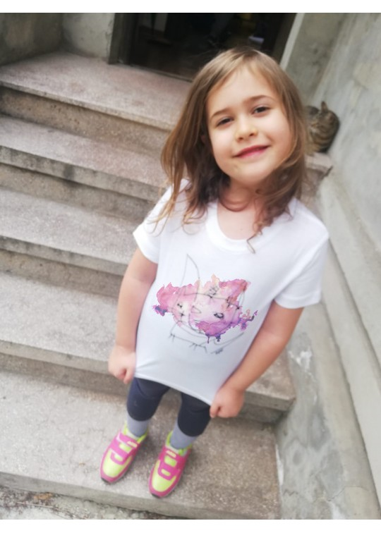 Handpainted Kids T-shirts - Raii's Drawings (3)