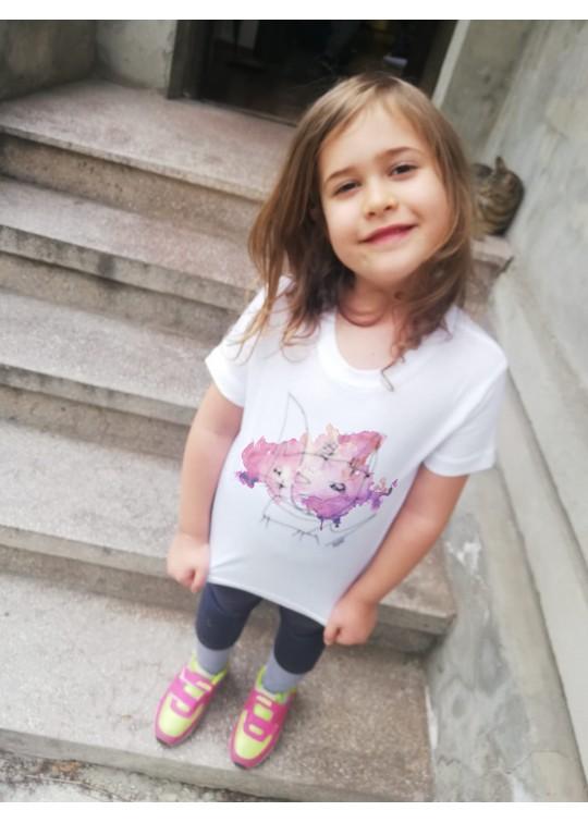 Handpainted Kids T-shirts - Raii's Drawings