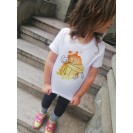 Handpainted Kids T-shirt - Rai's Puppy