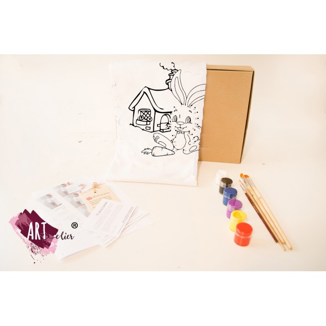 Creative ARTistic KID Painting Set - Bunny, Easter Limited Edition