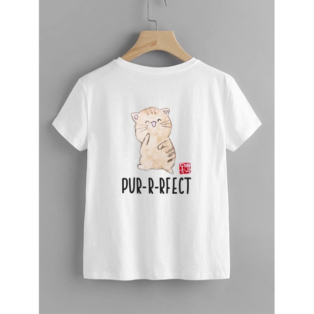 Kids T-shirt with cats - Purrfect Cat