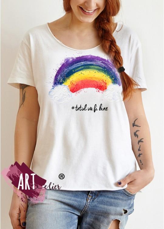 Handpainted T-shirts #WILLBEFINE (5)