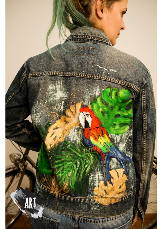 Handpainted jacket