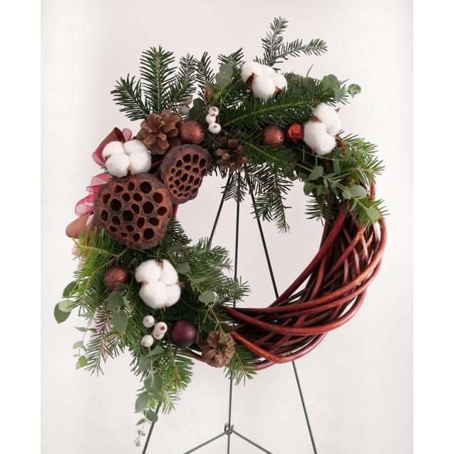 "Christmas decorations Christmas wreaths ""Flori de lotus"""