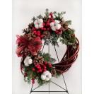 "Christmas decorations Christmas wreaths ""Impletita"""