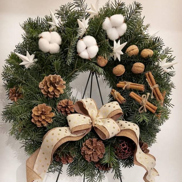 "Christmas decorations Christmas wreaths ""Voie buna"""