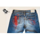 UPcycled ARTistic Jeans Pinch of Traditions