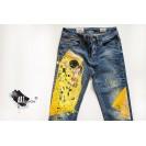 UPcycled ARTistic Jeans Klimt