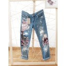 UPcycled ARTistic Jeans Cherry Blossom
